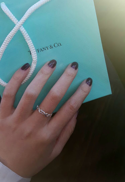 Tiffany Amp Co Infinity Narrow Band Ring Raincouver Beauty