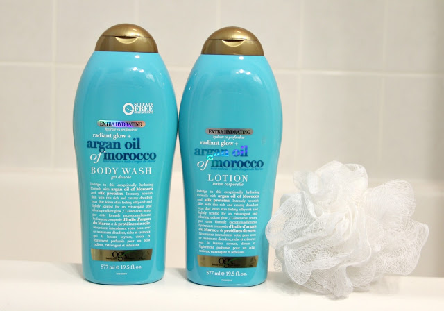 ogx argan oil of morocco body wash lotion review
