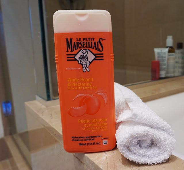 le petit marseillais body wash review white peach nectarine