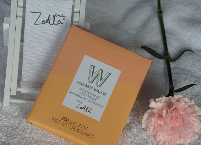 zoella beauty jelly gelato collection review bath wafers
