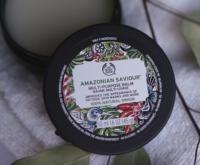 the body shop amazonian saviour multi purpose balm
