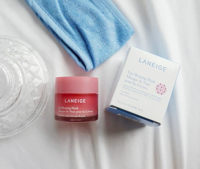 lip sleeing mask review laneige skincare products kbeauty korean