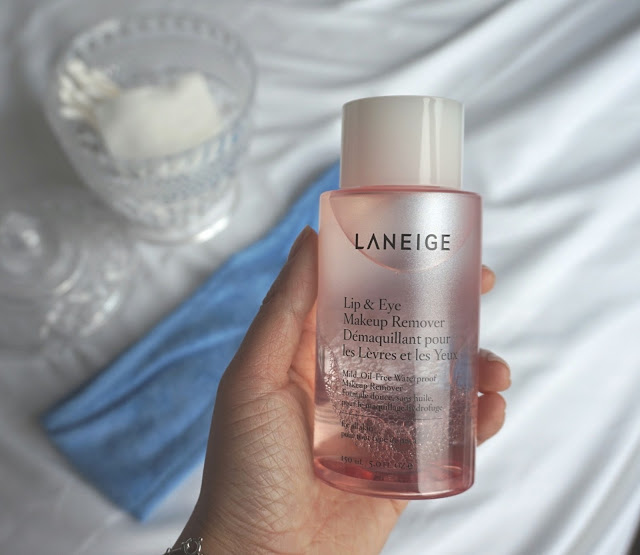 eye and lip makeup remover review laneige skincare products kbeauty korean