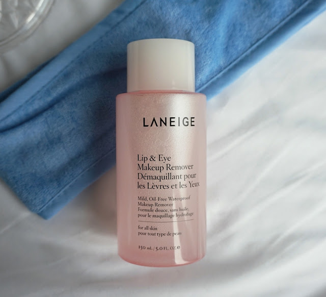 lip and eye makeup remover cleansing review laneige skincare products kbeauty korean
